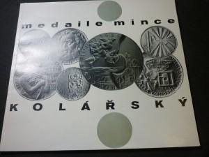 náhled knihy - medaile mince kolářský