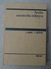 náhled knihy - Fyzika stavebního inženýra : Vysokošk. učebnice pro stavební fakulty
