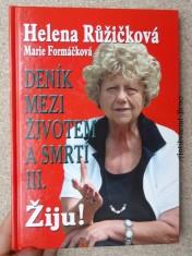 náhled knihy - Deník mezi životem a smrtí. III., Žiju!