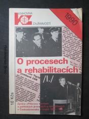 náhled knihy - O procesech a rehabilitacích: (zpráva \