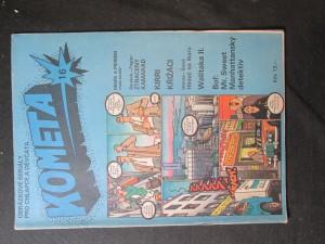 náhled knihy - Kometa č. 16. Obrázkové seriály pro chlapce a děvčata
