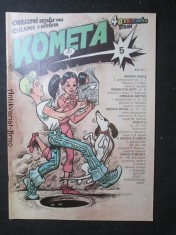 náhled knihy - Kometa č. 5. Obrazové seriály pro chlapce a děvčata.