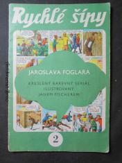 náhled knihy - Rychlé šípy Jaroslava Foglara. 2.