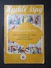 náhled knihy - Rychlé šípy Jaroslava Foglara. 6.