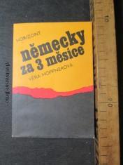 náhled knihy - Německy za 3 měsíce