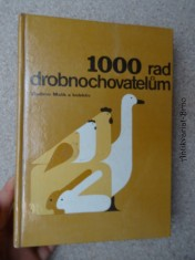 náhled knihy - 1000 rad drobnochovatelům