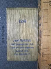 náhled knihy - Kapesní kalendář 1928