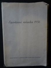 náhled knihy - Sportovní ročenka 1956