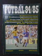 náhled knihy - Futbal 84/85 - ročenka