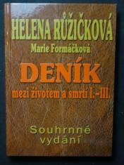 náhled knihy - Deník mezi životem a smrtí. I.-III.
