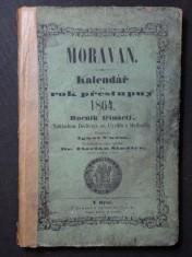 náhled knihy - Moravan - Kalendář na rok přestupný 1864 ročník třináctý.