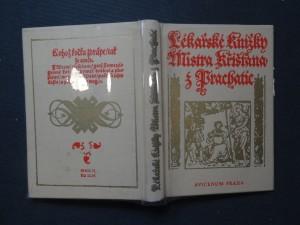 náhled knihy - Lékařské knížky Mistra Křišťana z Prachatic z mnohých vybrané