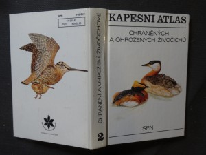 náhled knihy - Kapesní atlas chráněných a ohrožených živočichů