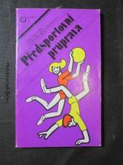 náhled knihy - Předsportovní průprava