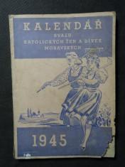 náhled knihy - Kalendář svazu katolických žen a dívek moravských na obyčejný rok  1945
