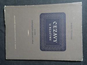 náhled knihy - Cezavy u Blučiny : ve světle archeologických výzkumů a nálezů