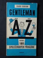 náhled knihy - Gentleman od A do Z, neboli, 181 společenských přikázání
