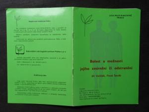 náhled knihy - Bolest a možnoti jejího zmírnění či odstranění