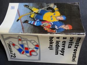 náhled knihy - Mistrovství světa a evropy v ledním hokeji