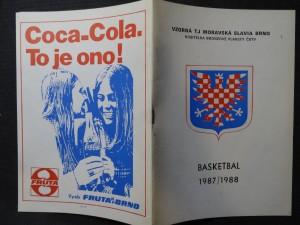 náhled knihy - Basketbal 1987/1988