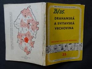 náhled knihy - Drahanská a Svitavská vrchovina