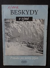 náhled knihy - Beskydy v zimě : Průvodce pro lyžaře-turisty