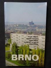 náhled knihy - Plán města Brno