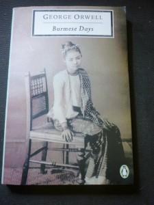 náhled knihy - burmese days