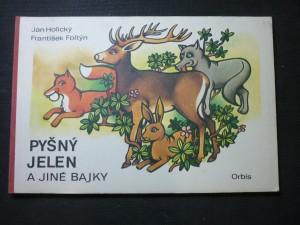 náhled knihy - pyšný jelen a jiné bajky