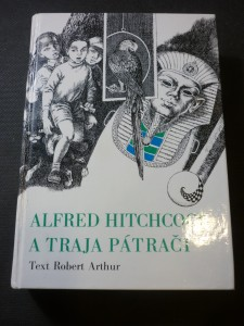 náhled knihy - Alfred Hitchcock a traja pátrači
