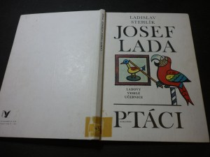 náhled knihy - Ladovy veselé učebnice. Ptáci