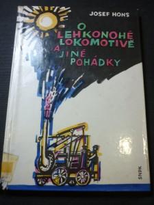náhled knihy - o lehkonohé lokomotivě