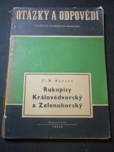 náhled knihy - Rukopisy Královédvorský a Zelenohorský