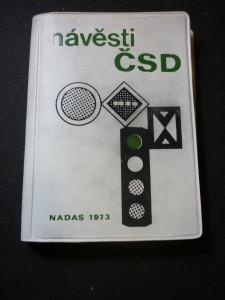 náhled knihy - Návěsti ČSD