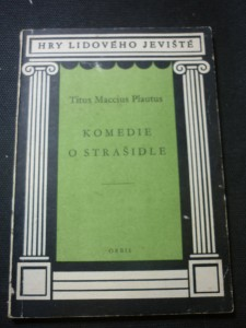 náhled knihy - Komedie o strašidle