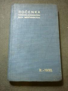 náhled knihy - ročenka československých škol měšťanských