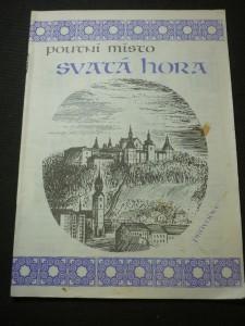 náhled knihy - Poutní místo Svatá Hora : průvodce Svatá Hora