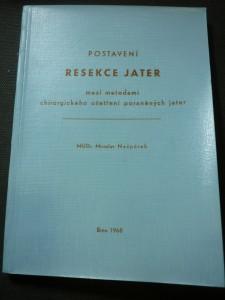 náhled knihy - postavení resekce jater