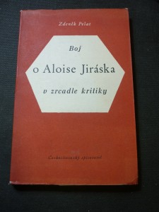 náhled knihy - Boj o Aloise Jiráska v zrcadle kritiky