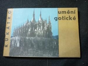náhled knihy - kukátko  umění gotické