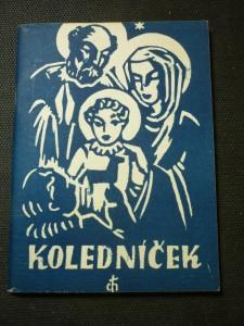 náhled knihy - Koledníček : Adventní a vánoční písně : Výňatek z Cyrilometodějského kancionál