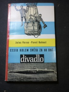 náhled knihy - Cesta kolem světa za 80 dní : živé obrazy podle románu Julese Verna