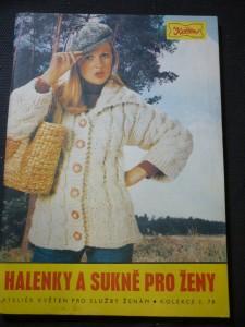 náhled knihy - halenky a sukně pro ženy