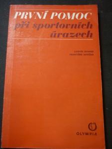náhled knihy - První pomoc při sportovních úrazech
