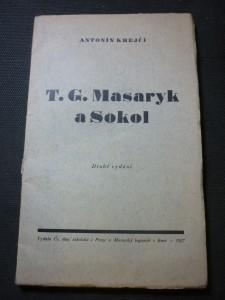 náhled knihy - T.G. Masaryk a Sokol