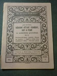 náhled knihy - národní dětské pohádky,hry a písně II.