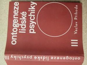 náhled knihy - Ontogeneze lidské psychiky : příručka pro vys. školy univ. směru. 3. [díl], Vývoj člověka od třiceti do čtyřiceti pěti let