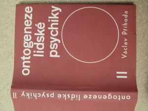 náhled knihy - Ontogeneze lidské psychiky. II, Vývoj člověka od patnácti do třiceti let
