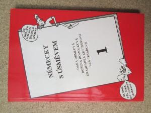 náhled knihy - Německy s úsměvem 1. díl, 2. díl, Doplňková cvičení, texty poslechových cvičení, klíč k překladovým cvičením a křížovkám