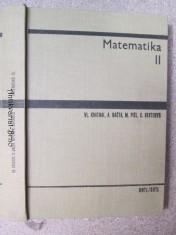 náhled knihy - Matematika II